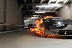 тоннель гонки Стоковое Фото