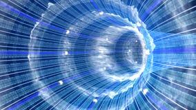тоннель данных Стоковое фото RF
