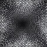 тоннель диаманта металлопластинчатый Стоковая Фотография RF
