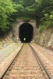 тоннель железной дороги стоковое изображение