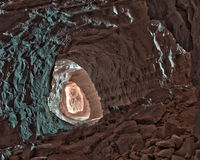 тоннель зеркала Стоковые Фото