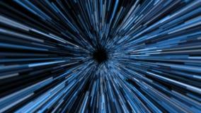 тоннель космоса искривления конспекта 4K иллюстрация штока