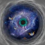 Тоннель космоса стоковое фото