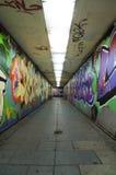 Тоннель надписи на стенах урбанский. Стоковое Изображение