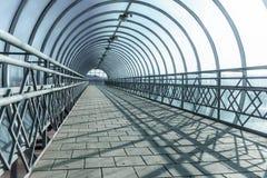 Тоннель над roadr Стоковые Фото