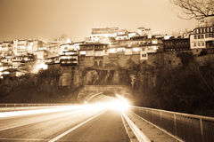 тоннель ночи Стоковые Фото