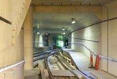 тоннель подземки Стоковое Фото