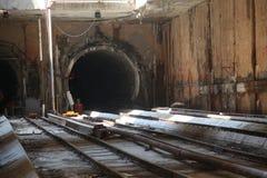 тоннель подземки Стоковое Изображение RF
