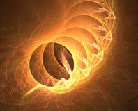 тоннель пожара Стоковое Фото