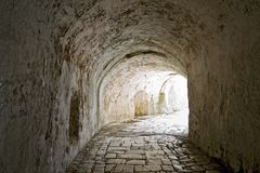 тоннель прохода стоковые фотографии rf