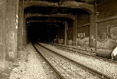 тоннель рельса Стоковые Фотографии RF