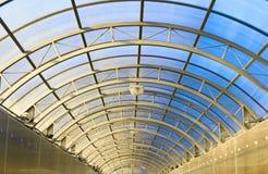 тоннель свода длинний Стоковое Фото
