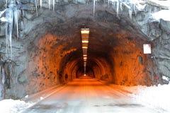 Тоннель снежка Стоковые Фото
