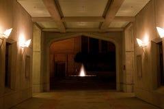 тоннель стороны фиоритуры собора аннекса Стоковое фото RF