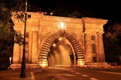 Тоннель Buda в Будапешт Стоковые Фото
