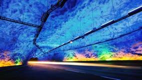 Тоннель Laerdal стоковые фотографии rf