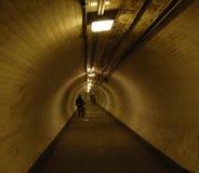 тоннель thames вниз Стоковое Фото