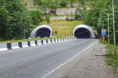 Тоннель автомобиля около Батуми, Adjara, Georgia Стоковое Фото