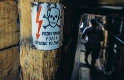 Тоннель в Сараеве стоковая фотография rf