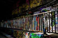 Тоннель Лондон Ватерлоо Стоковые Изображения RF