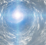 Тоннель света Стоковая Фотография