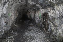 Тоннель сводов и архивов скалистой горы Стоковые Фотографии RF