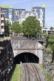 Тоннель Сиднея железнодорожный Стоковое Изображение RF
