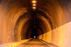 Тоннель темноты Undergound Стоковые Фото