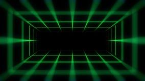 Тоннель цифров (безшовная петля) акции видеоматериалы