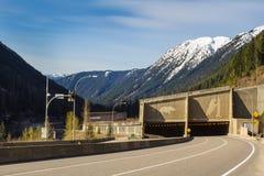 Тоннель шоссе стоковое фото rf