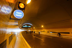 Тоннель Blanka Стоковые Фотографии RF