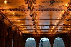Тоннель Central Park Стоковое Изображение