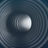 тоннель 3D Стоковое фото RF