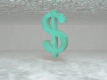 тонуть доллара Стоковое Изображение