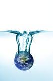 тонуть планеты Стоковая Фотография