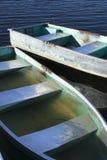 тонуть rowboat Стоковые Фотографии RF
