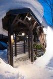 Тон-оружие Onsen курорта горячего источника Стоковое Изображение RF
