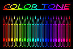 тон цвета Стоковое фото RF