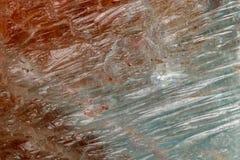 Топаз макроса минеральный каменный на белой предпосылке стоковое фото