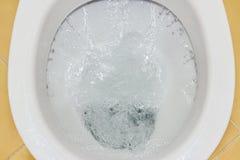 Топить шар туалета Стоковые Изображения RF