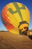топление воздушного шара Стоковая Фотография