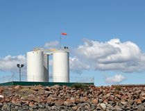 топливные баки орлов Стоковая Фотография