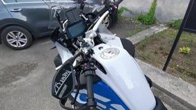 Топливный бак motocycle спорта с логотипом BMW сток-видео
