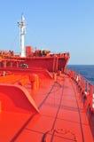 топливозаправщик корабля сырой нефти несущей Стоковые Фотографии RF