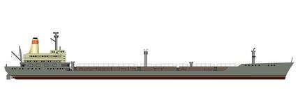 Топливозаправщик корабля Стоковое Изображение