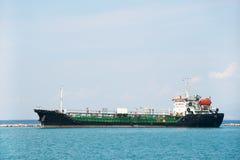 топливозаправщик моря шлюпки стоковая фотография