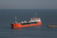 топливозаправщик моря Стоковые Изображения