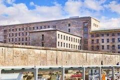 Топография Берлинской стены террора стоковое изображение