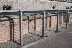 Топография музея террора, Берлина, Германии стоковое фото rf