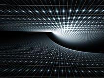топология teal предпосылки Стоковое Изображение RF